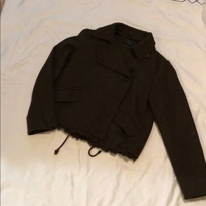Gap wool cropped jacket. Size M.